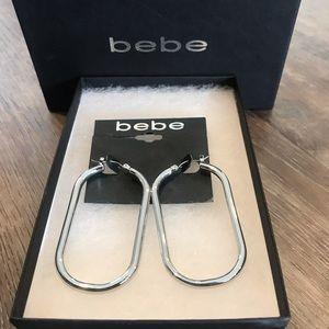 BEBE Hoops (Silver)